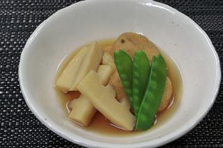 がんもと筍の煮物
