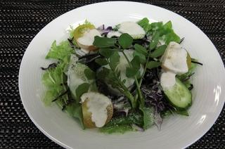 温泉玉子のシーザーサラダ